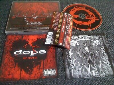 DOPE , slipknot / no regrets /JAPAN LTD CD OBI  bonus track