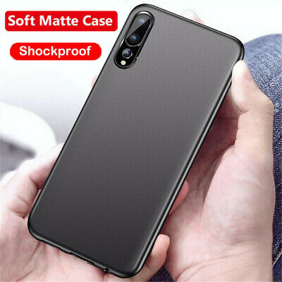 For Samsung Galaxy A70 A80 A50 A40 A30 Matte Ultra-thin Soft Silicone Case Cover