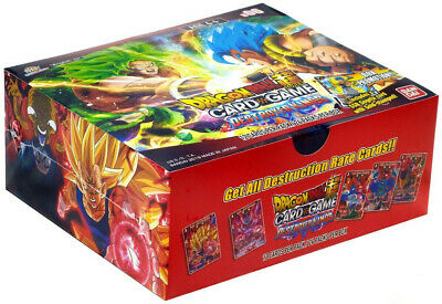 Dragon Ball Super Destroyer Kings Booster Box SEALED PART CRATE.