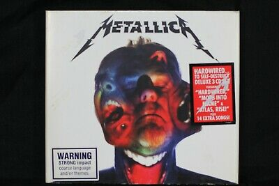 Metallica ‎– Hardwired...To Self-Destruct - 3 CDs - Digipak -  (C187)