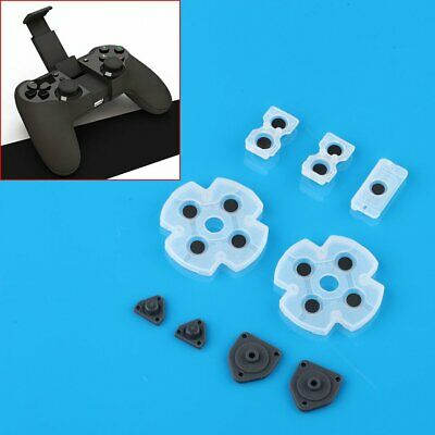 2 Rubber Conductive Button Pad Kit For PlayStation 4 PS4 Controller DualShock 4