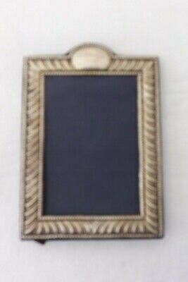 Solid Silver Hallmarked Photo Photograph Frame Silver 20Cms By 14Cms