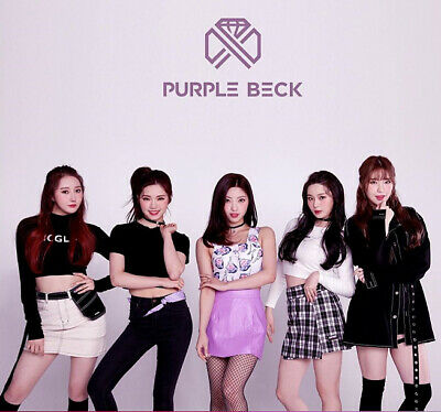 PURPLEBECK [CRYSTAL BALL] 1st Mini Album NORMAL Ver CD+Photo Book K-POP SEALED