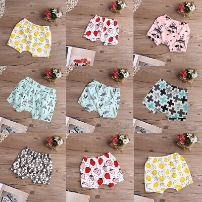 New Infant Baby Boy Girl Summer Shorts Bottoms Pants Casual Bloomers Hot Pants