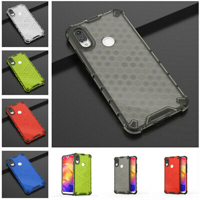 For Xiaomi Redmi Note 7 7 Pro Anti-shock Hybrid TPU Soft Bumper Slim Case Cover