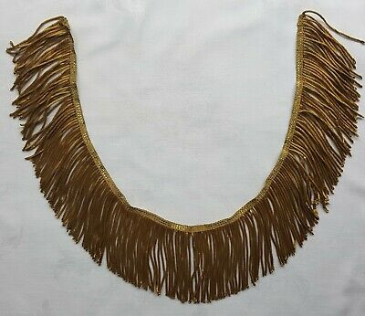 """Vintage Gold Metallic Fringe New Old Stock for Vestment Cape 2-1//2/"""" Sold by Yard"""
