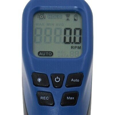 Digital Tachometer Non Contact Laser Speed Tester Device W/LCD Display