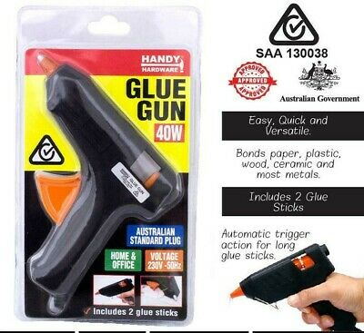 Hot Glue gun 40w with 2 glue sticks plus 10 FREE glue sticks