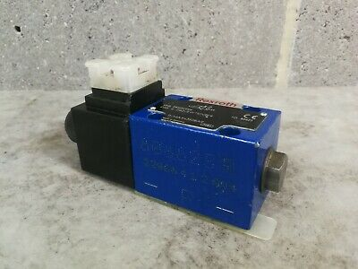 Rexroth Ng6 CETOP3 Hydraulic Sol Directional Valve 2 Posn Crossover 4WE 6 110VAC