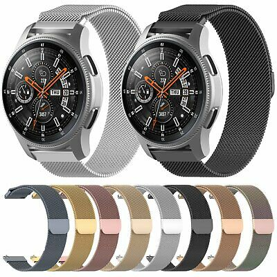 Milanese Loop Stainless Steel Watch Band Strap for Samsung Galaxy Watch 42/46MM