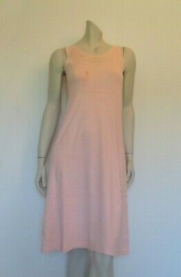 Vintage Cotton Interlock Slip, Dress or Nightgown With Advertising Logo - 1940s