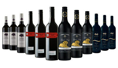 AU Ultimate Premium Red Wine Mixed ft Tyrrells, CherryTree Hill 12x750ml RRP$239