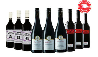 Christmas Cabernet Mix Red Wines ft Andrew Peace 9x750ml RRP$199 Free Shipping/R