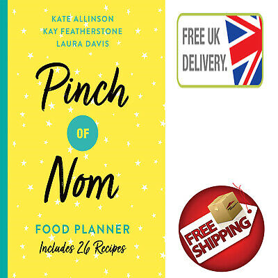 Pinch of Nom Food Planner: Includes 26 New Recipes New Paperback Book Bestseller