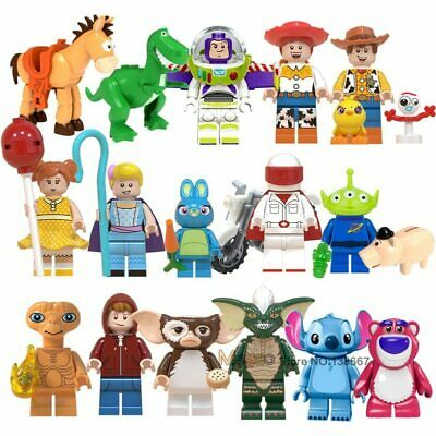 Toy Story IV Figure Buzz Lightyear Woody Aliens Building Blocks