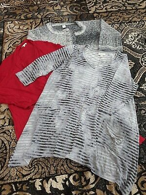 Autograph and Target WOMEN'S plus SIZE 16 cardigans & tunic