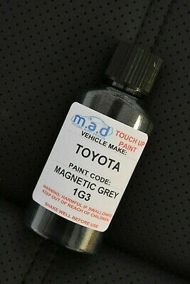 Toyota Magnetic Grey 1G3 Paint Touch Up Kit 30Ml Scratch Chip Brush Scratch