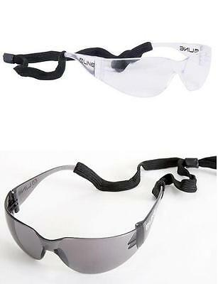 Bolle Line BL10II Safety Glasses Spectacles - Clear / Smoke Lens