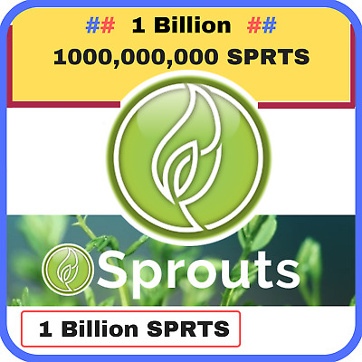 1 Billion 1000,000,000 Sprouts (SPRTS) CRYPTO MINING-CONTRACT (1 Billion SPRTS)