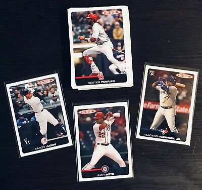 2019 Topps Total Wave 2 Complete Your Set, Soto, Judge, Guerrero Limited Print