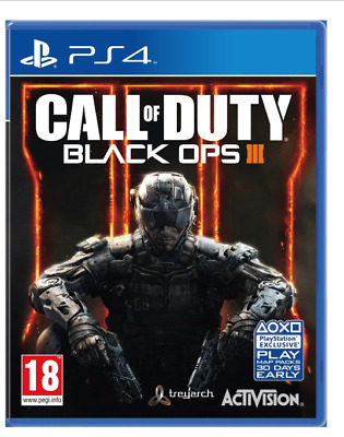 Call Of Duty Black Ops Iii ( 3 ) Ps4 Brand New & Sealed