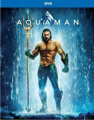 """AQUAMAN (DVD, 2019) NEW! """"He's Not From Around Here!"""" Free Shipping"""