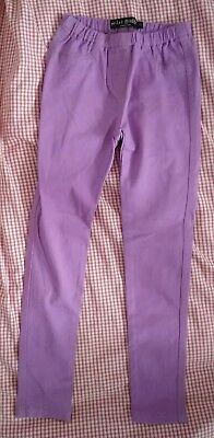 Mini Boden Girl's Mauve/lilac Jeggings Age 8 Years 8 Ans 8 Anos