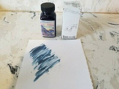 Noodlers Fountain Pen Ink 3 Oz Navajo Turquoise Blue Unsealed But Still Full...