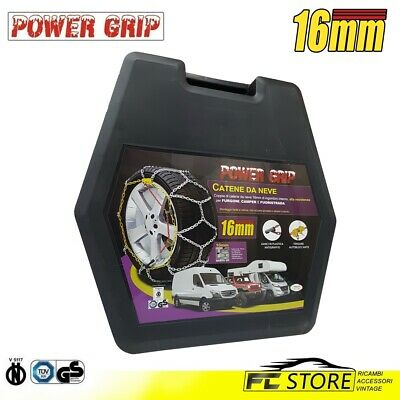 16F250 - Chaines Neige Power Grip 16mm Homologué Groupe 250