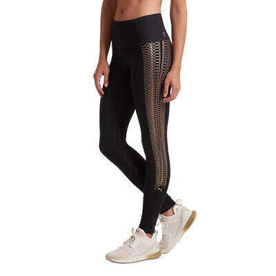 247a5e83d53ee4 ... High-Rise Mesh-Panel Elevate Compression Leggings Blue Night Cruise.