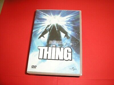 "DVD,""THE THING"",de john carpenter's,(1087)"
