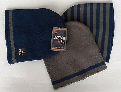 Jackson Bay Boys 3 Pack Beanie Hats