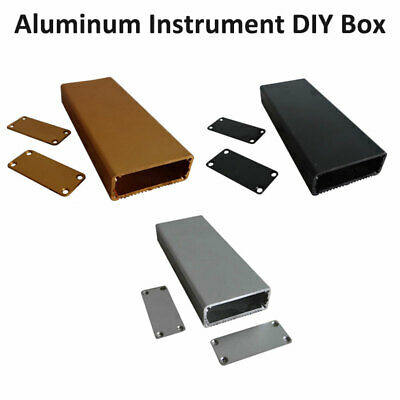Aluminum/Plastic Instrument Box Enclosure Electronic Project Case 18x45x80/110mm