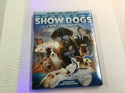 Show Dogs ( Blu-Ray + Dvd + Digital Copy ) Brand New Sealed