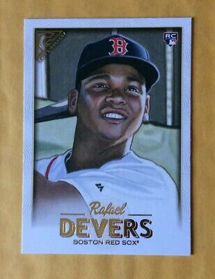 2018 Topps Gallery Boston Red Sox Rafael Devers RC # 127