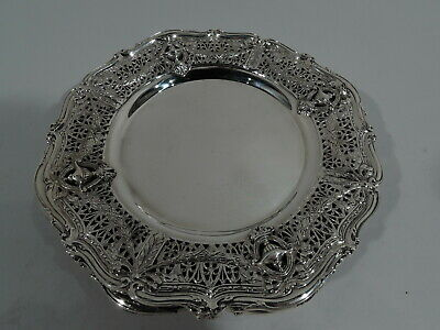 Shreve Adam Plates - 4992 - Antique Bread & Butter - American Sterling Silver