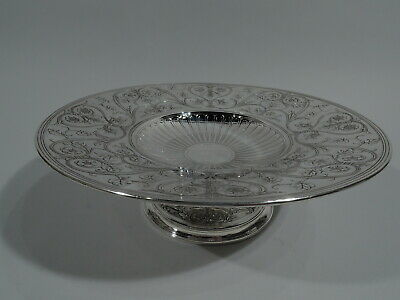 Tiffany Compote - 18935A - Antique Centerpiece Bowl - American Sterling Silver