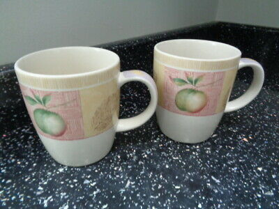 Marks And Spencer Wild Fruits Mugs X 2