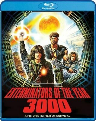 EXTERMINATORS OF THE YEAR 3000  Blu-Ray  New