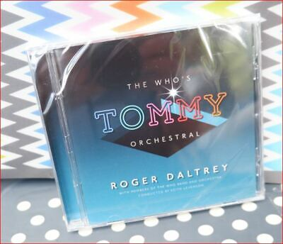 Roger Daltrey/Who New June 2019 Fast Freepost Tommy Orchestral CD Pinball Wizard