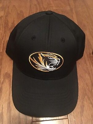 pretty nice 15467 1e679 NCAA NEW - Missouri Tigers - Top of the World - (Black) Curved Brim