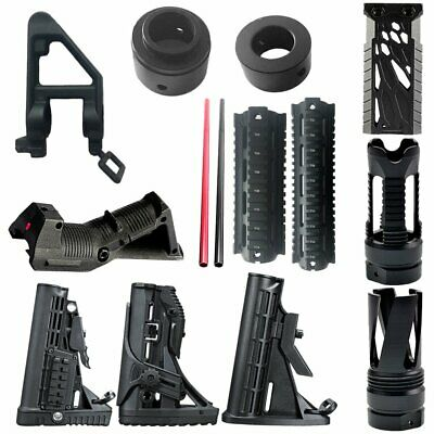 CCA Tactical Nylon Buttstock For JinMing Gen8 M4A1 Gel Ball Blaster Toy Gun WT