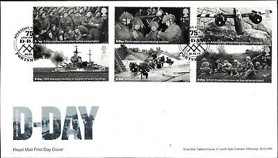 Gb 2019 Fdc D-Day 75Th Stamps Miniature Sheet  Barcoded Retail Booklet Pm67