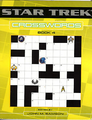 Star Trek Crosswords Book 4 Puzzles