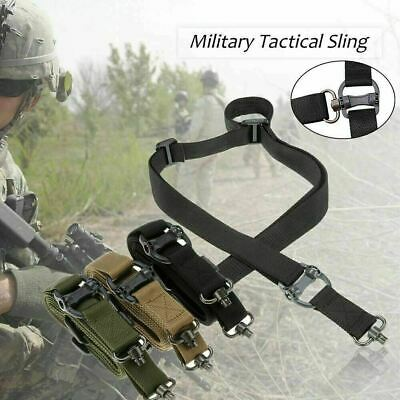 "Retro Tactical Quick Detach QD 1 2Point Multi Mission 1.2"" Rifle Sling Adjust US"