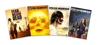 Fear The Walking Dead Complete All 1-4 Seasons DVD Set Collection TV Series Show