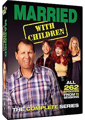 Married with Children Complete Series ALL Season DVD Set Collection Lot Episodes