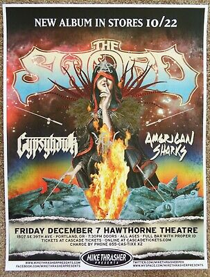 THE SWORD 2012 Gig POSTER Apocryphon Portland Oregon Concert