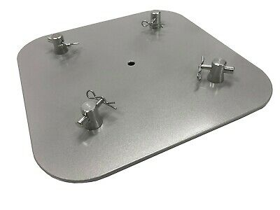 "12""X12"" Aluminum Base Plate/ Top For Square Trussing Fits 8""x8"" Truss LK-SAT"