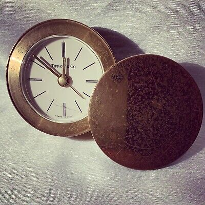 A Old Vintage Tiffany & Co Travel Clock 🕰